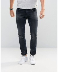 Jeans in slim fit with distressed detail medium 923866