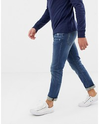 J.Crew Mercantile Slim Fit Flex Jeans In Mid Wash