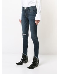 Frame Denim Distressed Effect Skinny Jeans