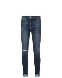 Frame Denim Distressed Effect Skinny Jeans