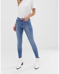 Miss Selfridge Distressed Lizzie Skinny Jeans