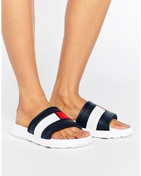 Tommy Hilfiger Flag Slider Sandals