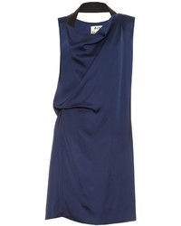 Acne Studios Rebecca Draped Satin Dress