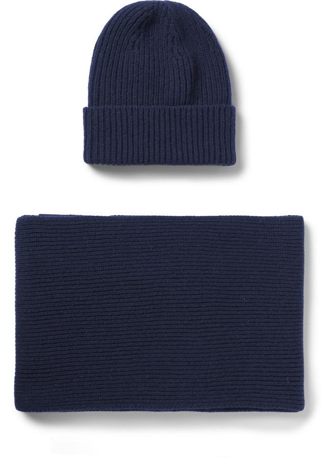 Cashmere Hat And Scarf Set William Lockie uOZPljDln