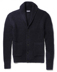 Burberry Brit Wool And Cashmere Blend Shawl Collar Cardigan