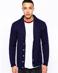 Love Moschino Cable Knit Cardigan