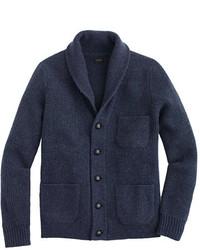 J.Crew Lambswool Three Pocket Cardigan Sweater