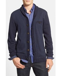 Ted Baker London Pattra Slim Fit Shawl Collar Cardigan