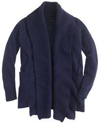 J.Crew Open Shawl Collar Cardigan Sweater