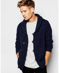 Pepe Jeans Pepe Heritage Shawl Cardigan Kyron Slim Fit Fleck Cable Knit