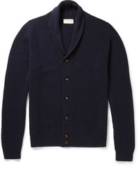 John Smedley Sherwood Merino Wool And Cashmere Blend Cardigan