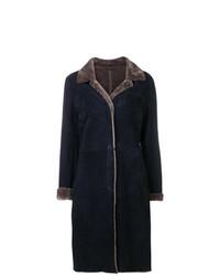 Liska Bi Colour Suede Coat
