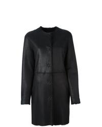 Liska Single Breasted Shearling Coat