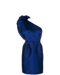 Stella McCartney Taffeta One Shoulder Dress