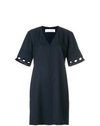 Victoria Victoria Beckham Cutout Sleeve Shift Dress