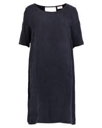 Viraf summer dress dark navy medium 4242433