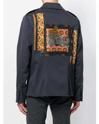 Etro Jacquard Patch Jacket