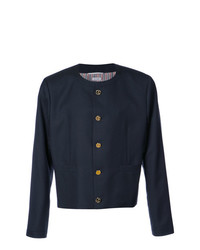 Thom Browne Slim Collarless Jacket