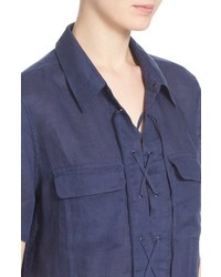 8e2b3798 Equipment Knox Corset Front Linen Shirtdress, £178 | Nordstrom ...