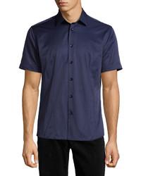 Navy Short Sleeve Shirt