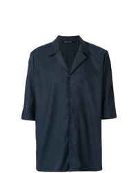 Neil Barrett Boxy Fit Cuban Shirt