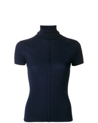 Chloé Shortsleeved Turtle Neck Jumper