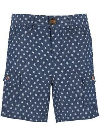 Andy & Evan A Star Is Worn Linen Cotton Shorts