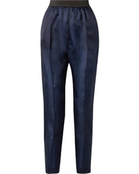 Albus Lumen Lujo Silk Twill Straight Leg Pants