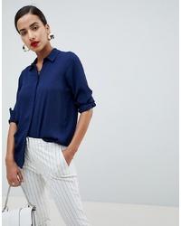 ASOS DESIGN Soft Long Sleeve Shirt