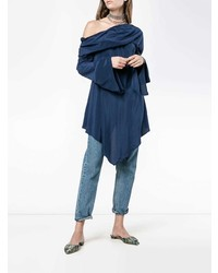 Sies Marjan Asymmetric Off Shoulder Blouse