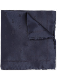 Alexander McQueen Silk Pocket Square