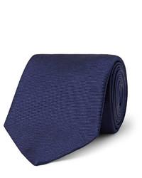 8cm ribbed silk tie medium 707417