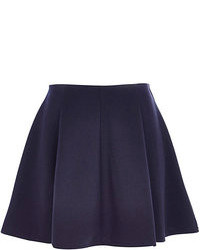 Navy skater skirt original 1481073