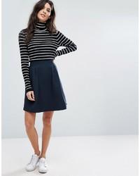 Vila Textured Skater Skirt