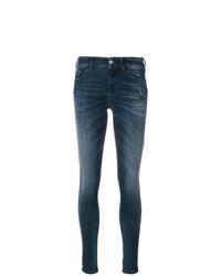 Diesel Mid Rise Skinny Jeans