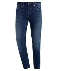 ONLY & SONS Onswarp Camp Jeans Skinny Fit Dark Blue Denim