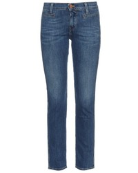 MiH Jeans Paris Mid Rise Skinny Jeans
