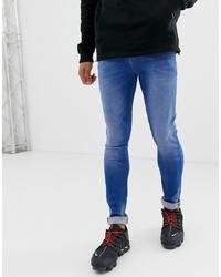 ASOS DESIGN Skinny Jean In Bright Blue