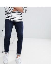 Noak Skinny Jeans In Raw Blue