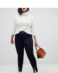 Junarose Split Ankle Skinny Jeans