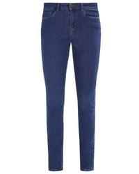 Vero Moda Vmseven Slim Fit Jeans Dark Blue Denim 0ad0ae3cd