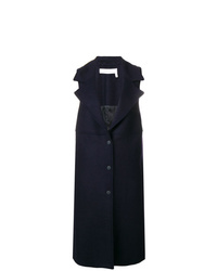 See by Chloe See By Chlo Sleeveless Single Breasted Coat