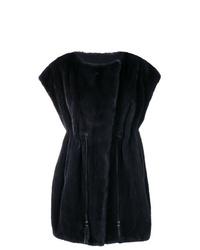 Liska Sleeveless Oversized Coat