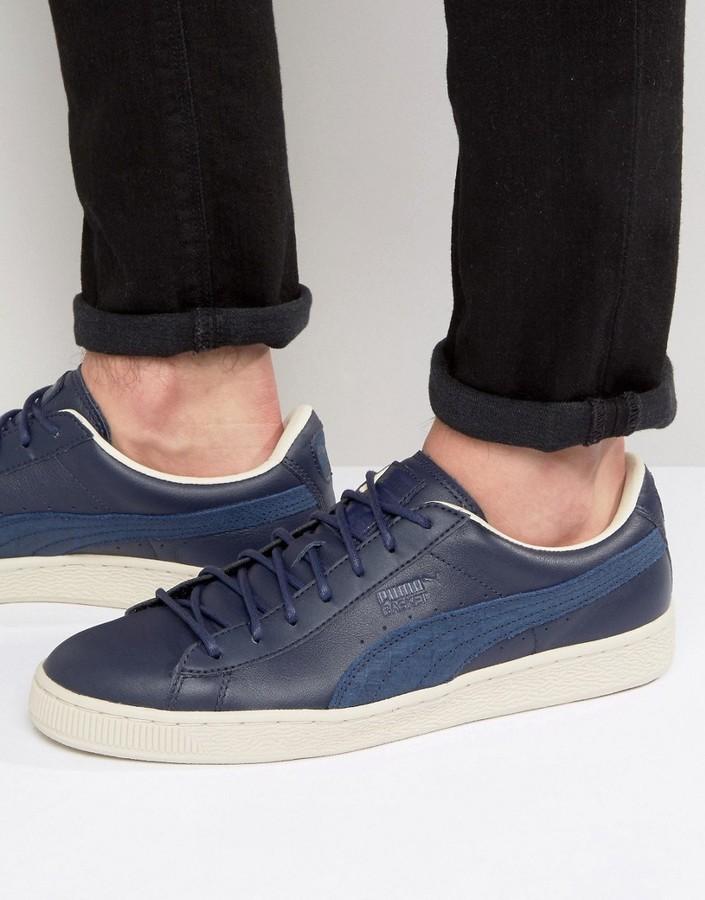 size 40 66f18 08d36 £79, Puma Basket Classic Citi Sneakers In Blue 36135202