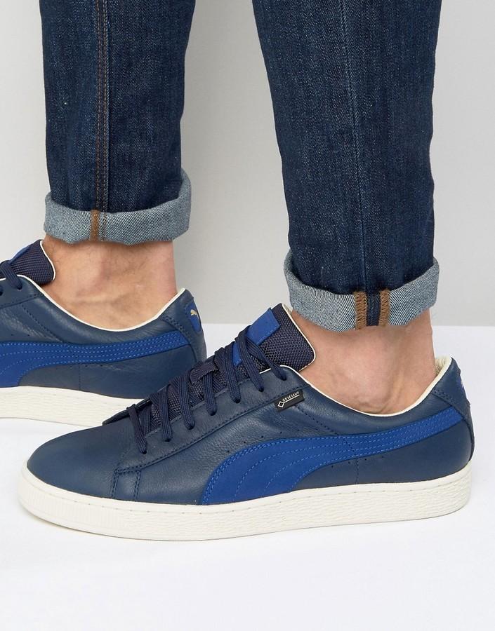 la meilleure attitude e9e52 32774 £58, Puma Basket Gtx Sneakers In Blue 36189902