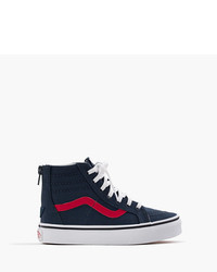 J.Crew Kids Vans Lace Up High Top Sneakers