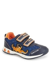 Geox Teppei Light Up Pirate Octopus Sneaker