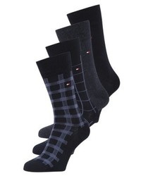 Tommy Hilfiger Cabin Box 4 Pack Socks Dark Navy