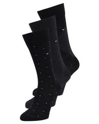 Tommy Hilfiger Mixed Box 3 Pack Socks Dark Navy