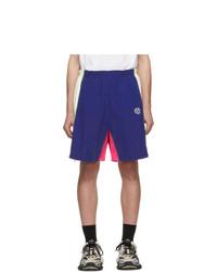 Navy Sports Shorts